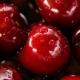 Red cherries.