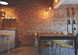 A coffee shop.
