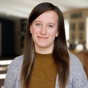 Sarah Dunlap, our Programming and Communication Coordinator.
