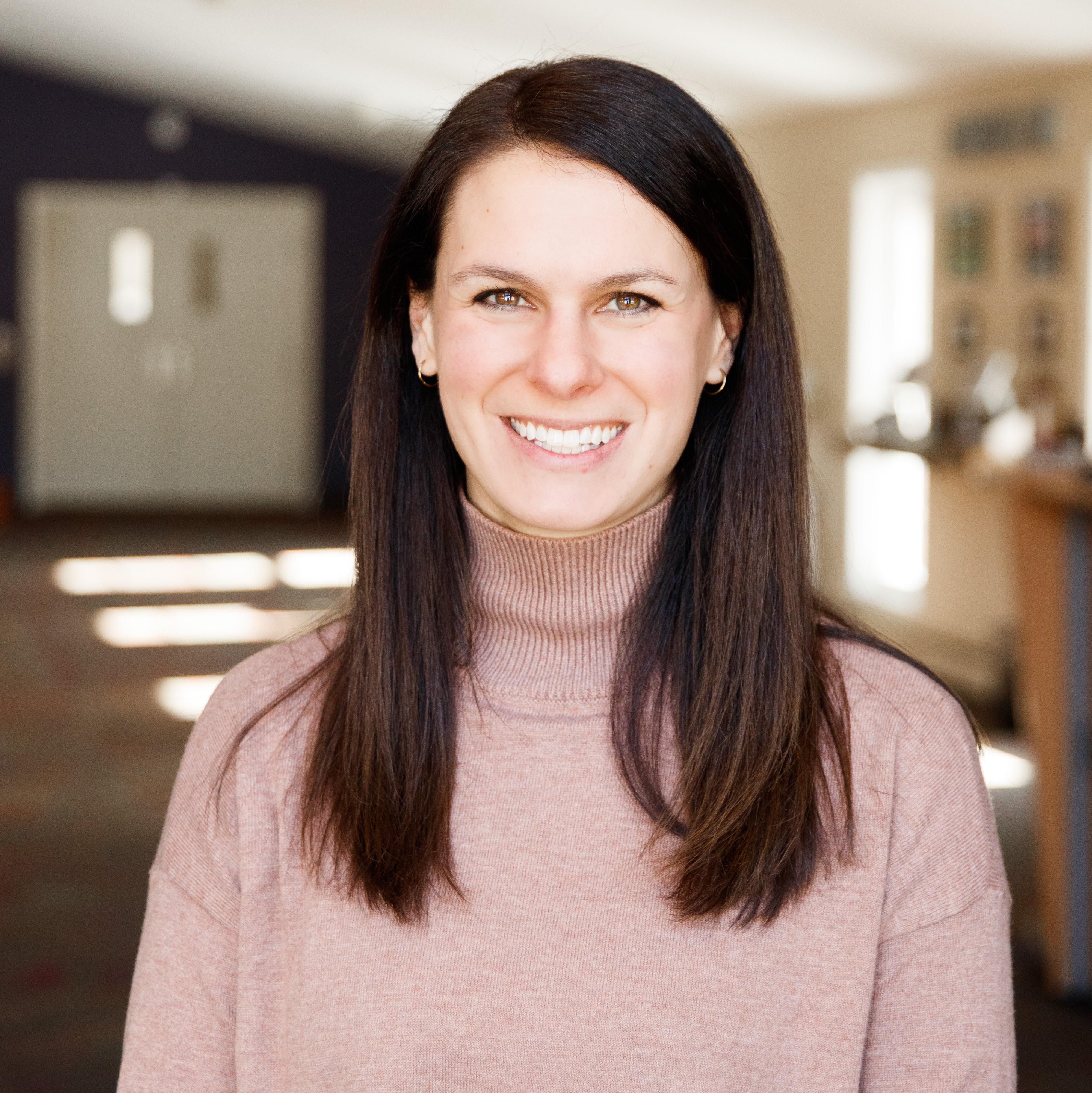 Jenn Williams, our Adult Min. Coordinator.