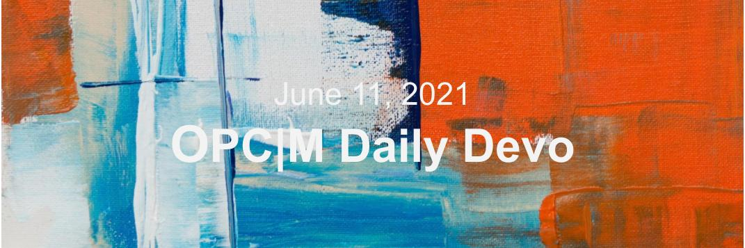 June 11th devo image, abstract colors.