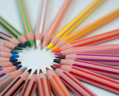 June 16th devo image, colored pencils.