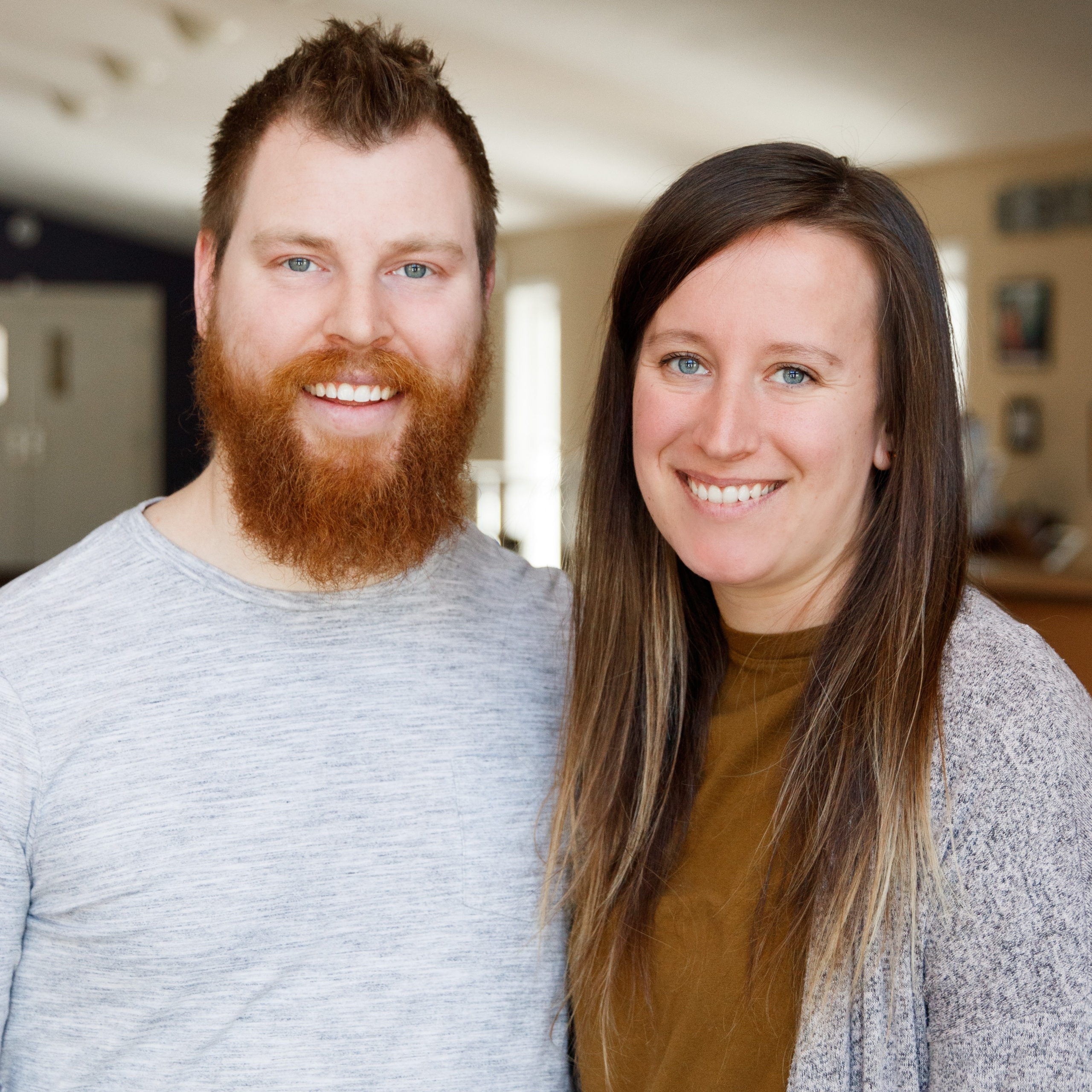 Our associate student ministries pastor, Perry Dunlap, and his wife Sarah.