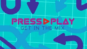 Our K3Cove June theme, Press Play.