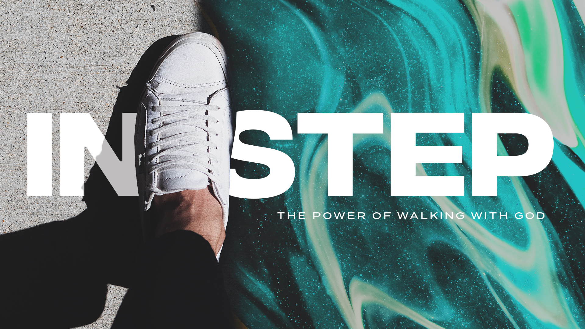 In Step Series Graphic